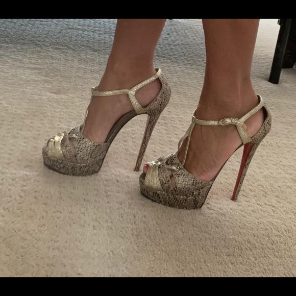 Christian Louboutin Shoes - ♥️ Glennalta 150 Glitter Louboutin